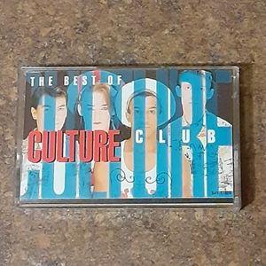 """Culture Club """"The Best Of Culture Club"""" Cassette T"""